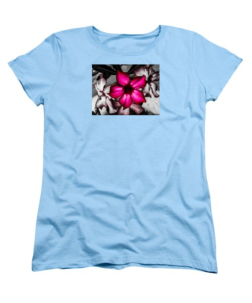Women's T-Shirt (Standard Cut) featuring the photograph Flower Dreams by Randy Sylvia