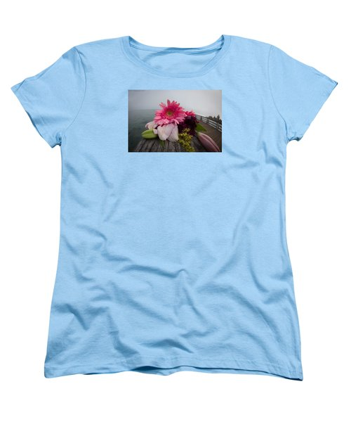 Women's T-Shirt (Standard Cut) featuring the photograph We All Die Sometime by Lora Lee Chapman
