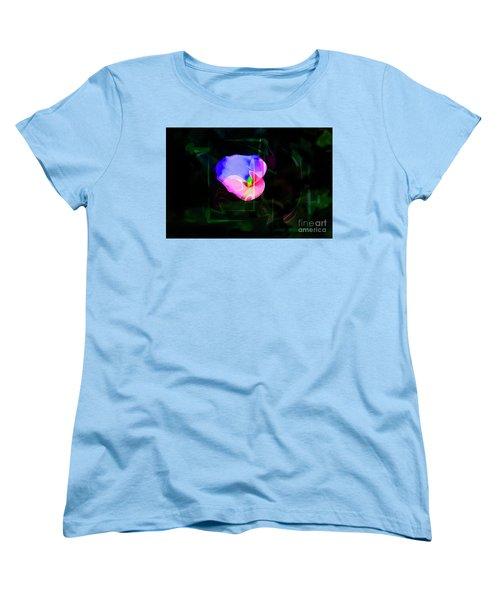 Women's T-Shirt (Standard Cut) featuring the photograph Flower Wower by Al Bourassa