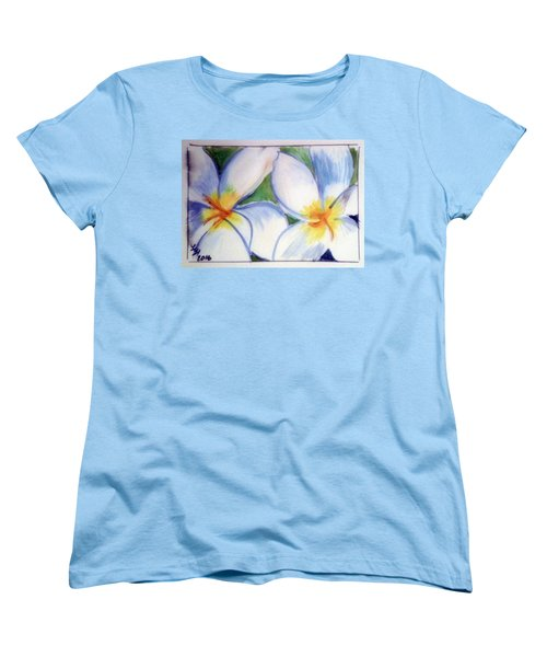 Flowers 3452 Women's T-Shirt (Standard Cut) by Loretta Nash