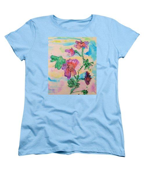 Flowers Are Blooming  Women's T-Shirt (Standard Cut)