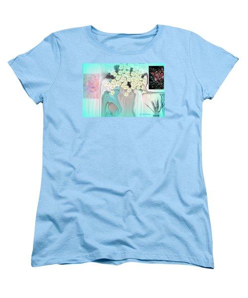 Water Please Women's T-Shirt (Standard Cut) by Sherri's Of Palm Springs