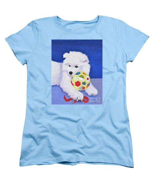 Fluffy's Portrait Women's T-Shirt (Standard Cut) by Phyllis Kaltenbach