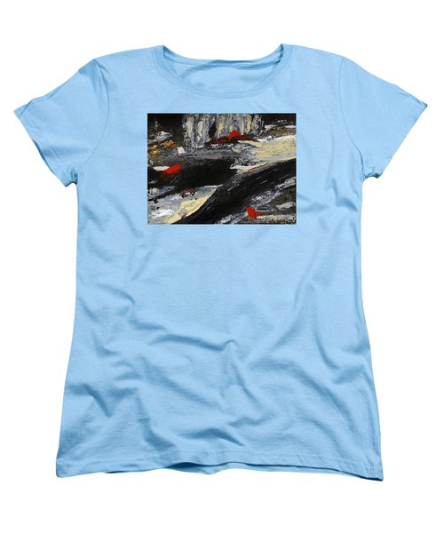 Flume 2 Women's T-Shirt (Standard Cut) by Dick Bourgault