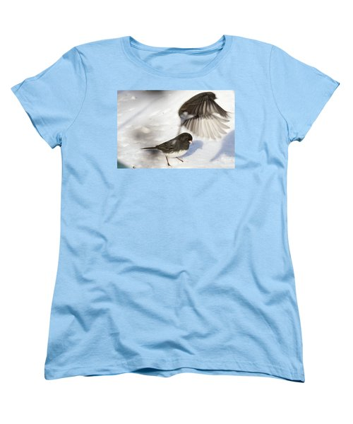 Women's T-Shirt (Standard Cut) featuring the photograph Fly By by Gary Wightman