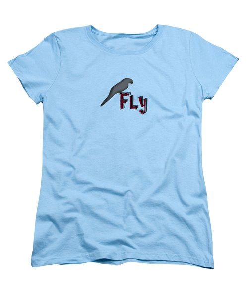 Fly Women's T-Shirt (Standard Cut) by Mim White