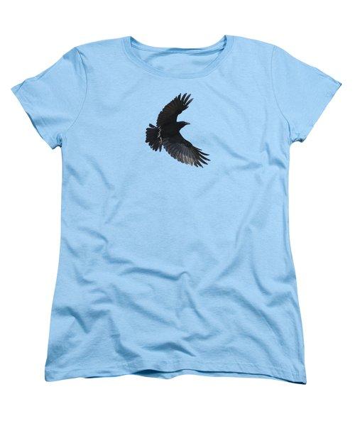 Flying Crow Women's T-Shirt (Standard Cut) by Bradford Martin