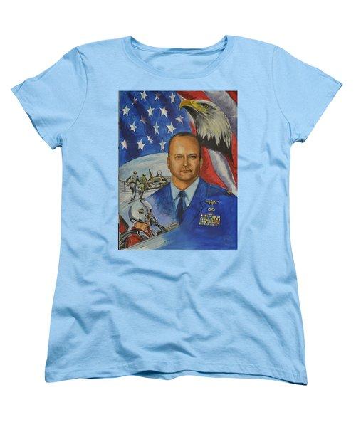Flying Days Done Women's T-Shirt (Standard Cut) by Ken Pridgeon