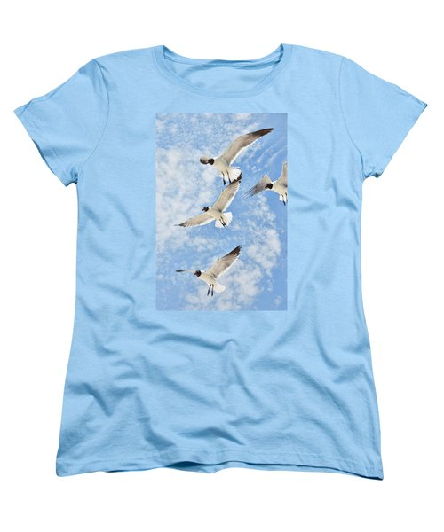 Flying High Women's T-Shirt (Standard Cut) by Jan Amiss Photography