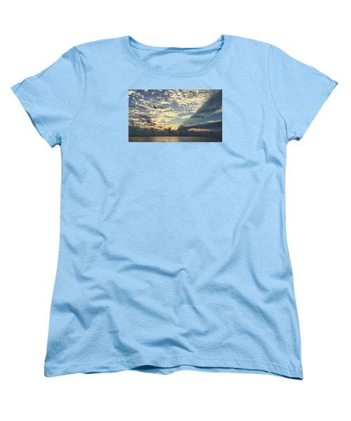 Flying To The Left Women's T-Shirt (Standard Cut)