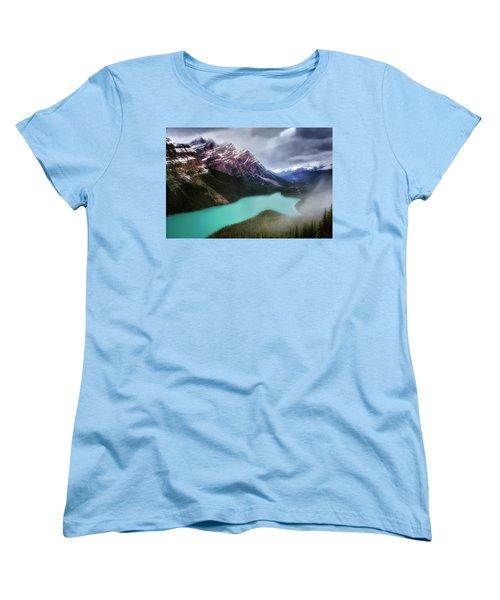 Fog Swirls Women's T-Shirt (Standard Cut) by Nicki Frates
