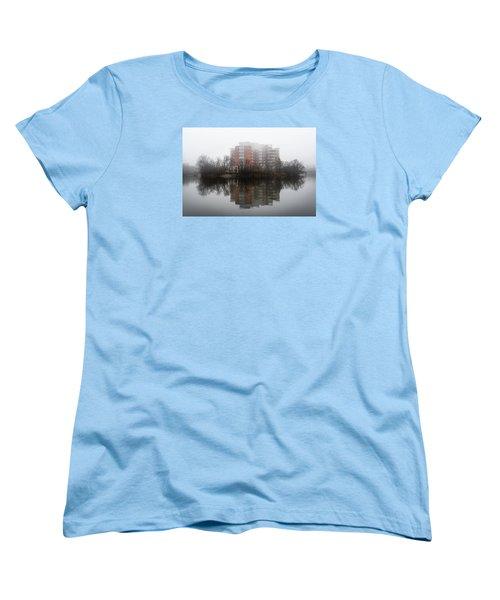 Foggy Reflection Women's T-Shirt (Standard Cut) by Celso Bressan