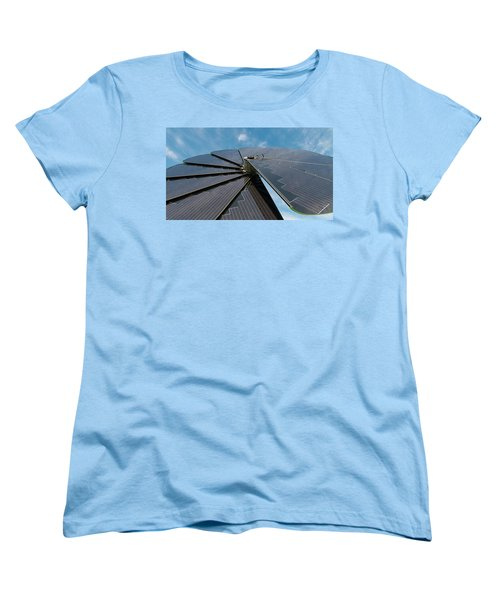 Foldable Solar Collector Women's T-Shirt (Standard Cut) by Hans Engbers