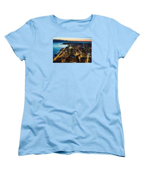 Follow The Yellow Brick Road Women's T-Shirt (Standard Cut) by Ryan Manuel