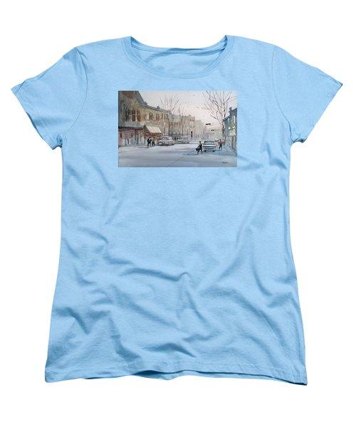 Fond Du Lac - Downtown Women's T-Shirt (Standard Cut) by Ryan Radke