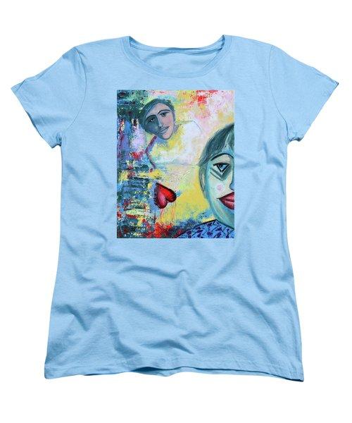 Foolish Love Women's T-Shirt (Standard Cut) by Donna Blackhall