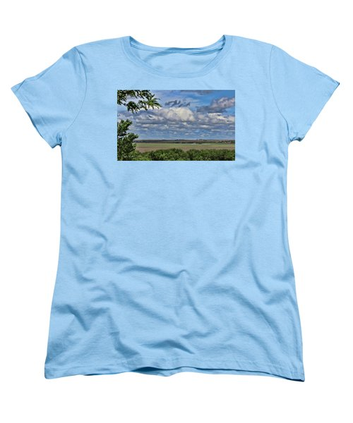 For Spacious Skies Women's T-Shirt (Standard Cut) by Sylvia Thornton