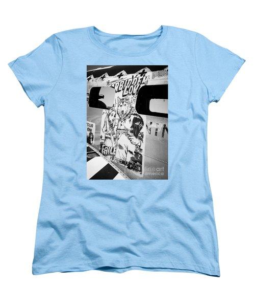 Women's T-Shirt (Standard Cut) featuring the photograph Forbidden Love by Chris Dutton
