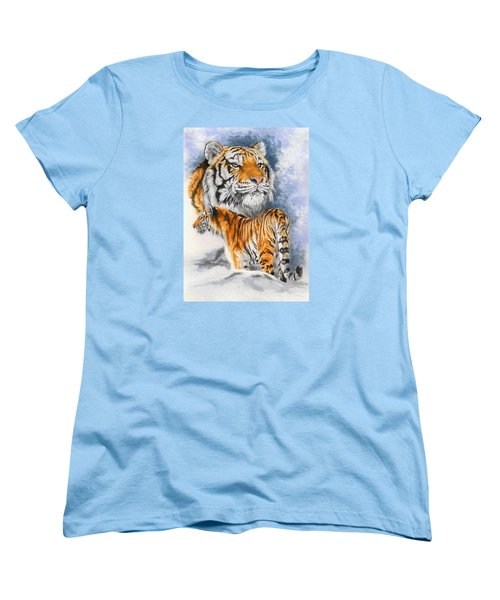Forceful Women's T-Shirt (Standard Cut) by Barbara Keith