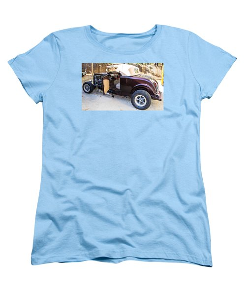 Ford Coupe Women's T-Shirt (Standard Cut) by Shannon Harrington