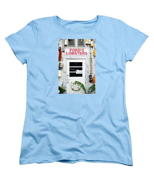Fords Lobster Women's T-Shirt (Standard Cut)