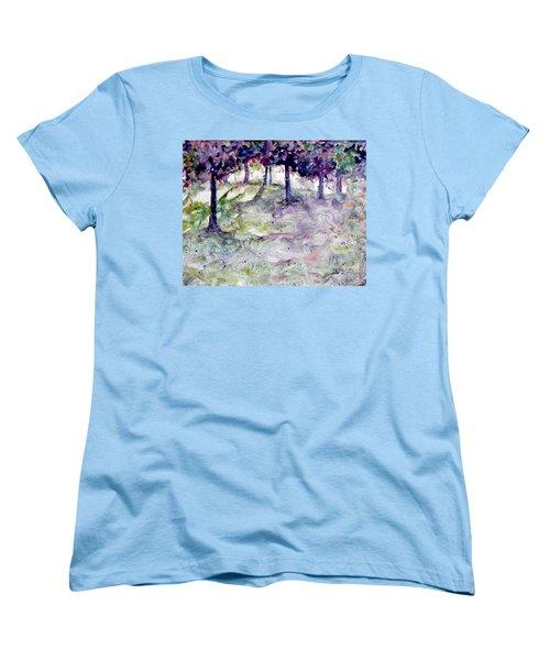 Forest Fantasy Women's T-Shirt (Standard Cut) by Jan Bennicoff