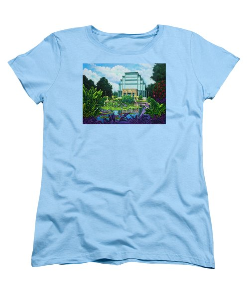 Forest Park Jewel Box Women's T-Shirt (Standard Cut) by Michael Frank