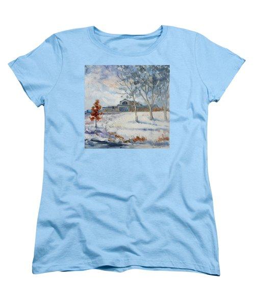 Forest Park Winter Women's T-Shirt (Standard Cut)