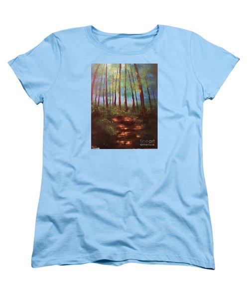 Forests Glow Women's T-Shirt (Standard Cut)