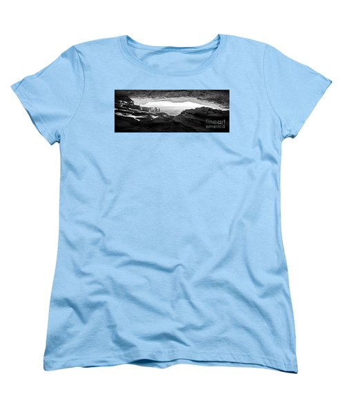 Women's T-Shirt (Standard Cut) featuring the photograph Forever View by Kristal Kraft