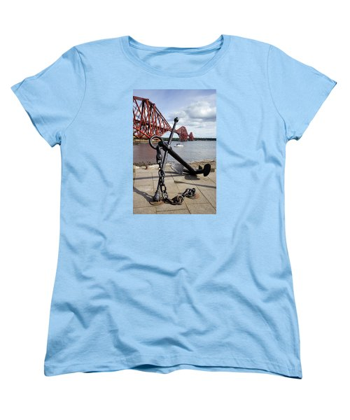Women's T-Shirt (Standard Cut) featuring the photograph Forth Bridge by Jeremy Lavender Photography