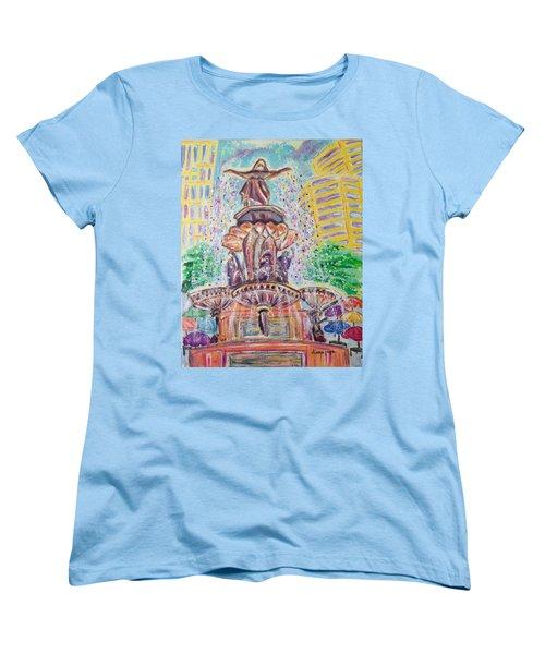 Fountain Square  Cincinnati  Ohio Women's T-Shirt (Standard Cut)