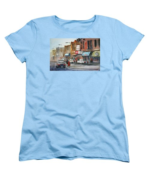 Fox Theater - Steven's Point Women's T-Shirt (Standard Cut) by Ryan Radke