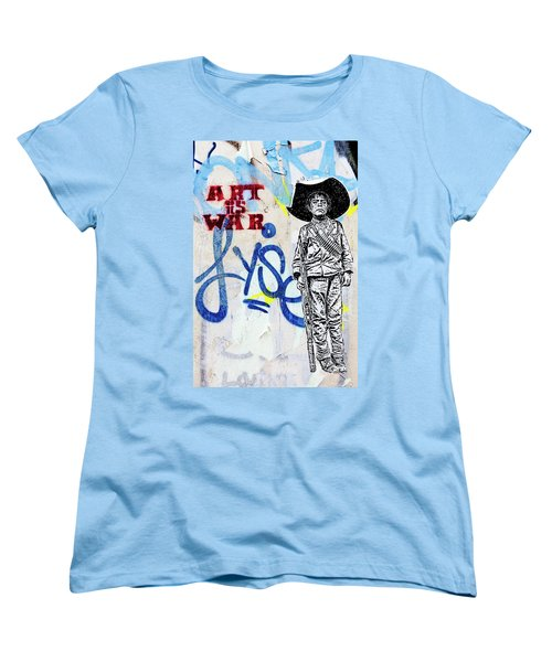 Women's T-Shirt (Standard Cut) featuring the photograph Freedom Fighter by Art Block Collections