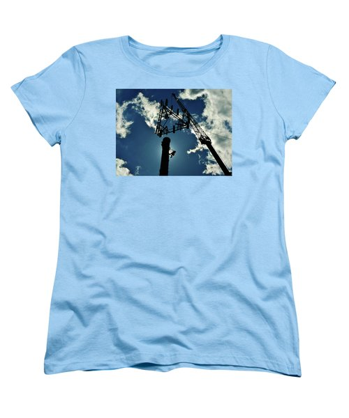 Freeland Women's T-Shirt (Standard Cut) by Robert Geary