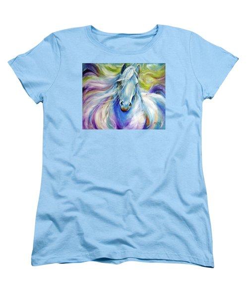 Freisian Dreamscape Women's T-Shirt (Standard Cut) by Marcia Baldwin