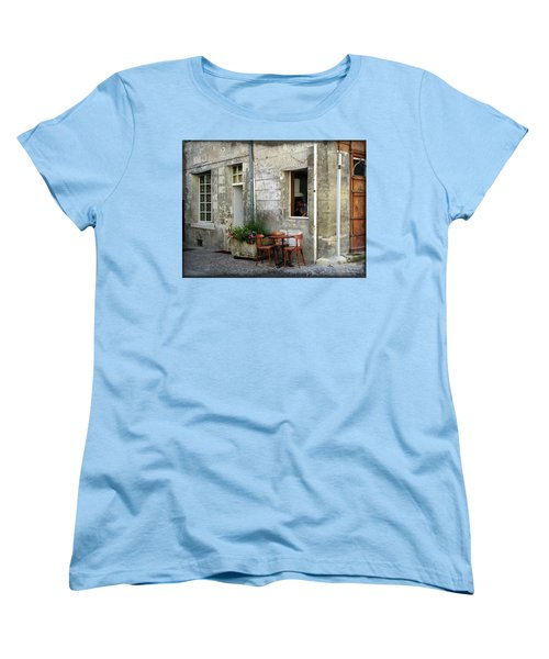 French Countryside Corner Women's T-Shirt (Standard Cut) by Joan  Minchak