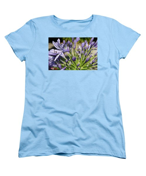 Women's T-Shirt (Standard Cut) featuring the photograph French Quarter Floral by KG Thienemann