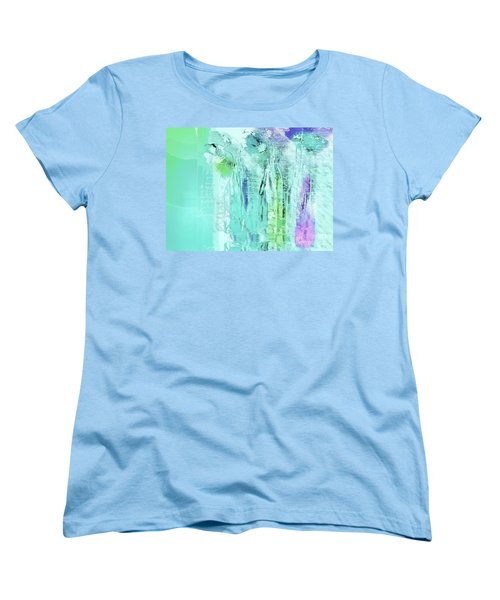 Women's T-Shirt (Standard Cut) featuring the digital art French Still Life - 14b by Variance Collections