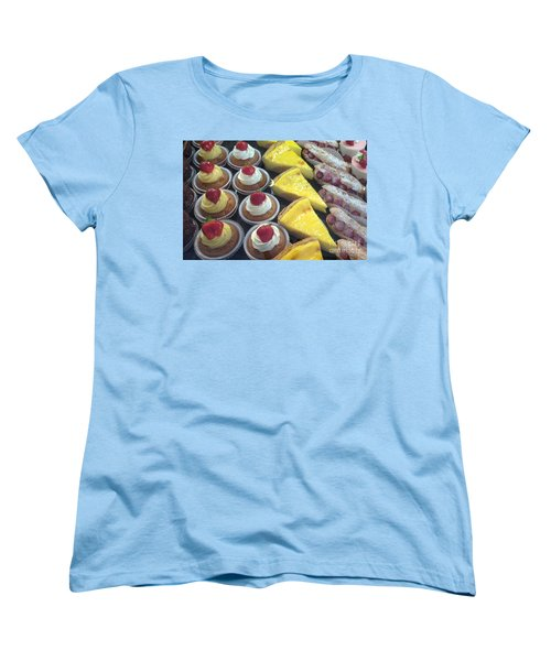 Women's T-Shirt (Standard Cut) featuring the photograph French Temptation by Therese Alcorn
