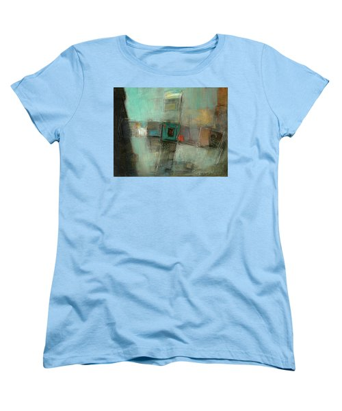 Fresh Pattern Women's T-Shirt (Standard Cut) by Behzad Sohrabi