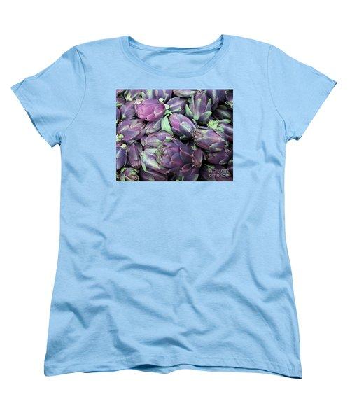 Freshness Women's T-Shirt (Standard Cut) by Sandy Molinaro