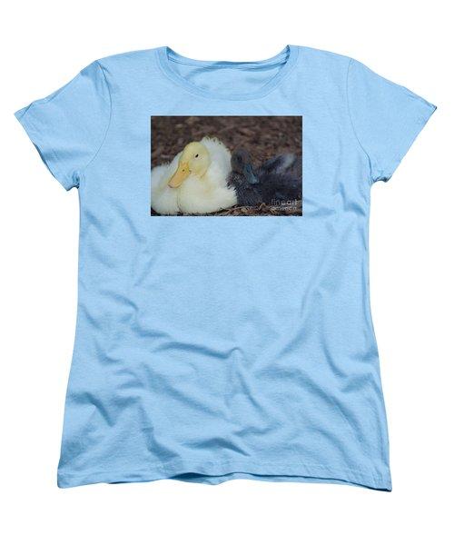 Friends Forever Women's T-Shirt (Standard Cut) by Donna Brown