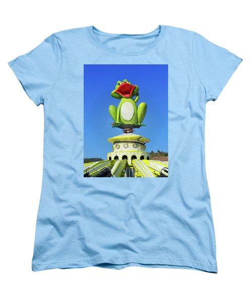 Froggy Women's T-Shirt (Standard Cut) by Don Pedro De Gracia