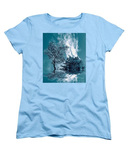 Frollicking Women's T-Shirt (Standard Cut) by Elfriede Fulda