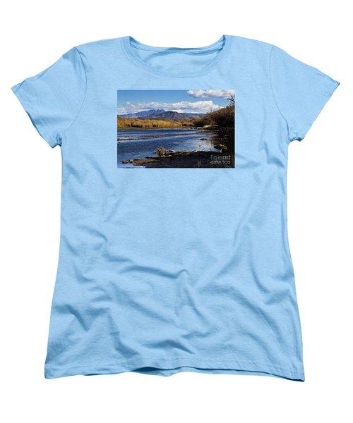 From The Salt Women's T-Shirt (Standard Cut) by Kathy McClure