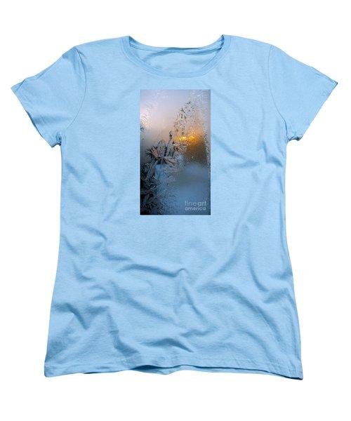 Frost Warning Women's T-Shirt (Standard Cut) by Pamela Clements