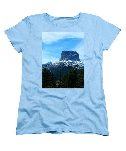 Frosty Chief Mountain Women's T-Shirt (Standard Cut)