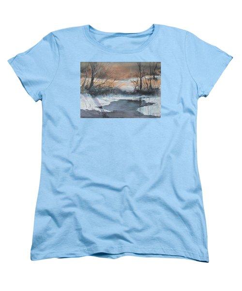 Frosty Morn. Women's T-Shirt (Standard Cut)