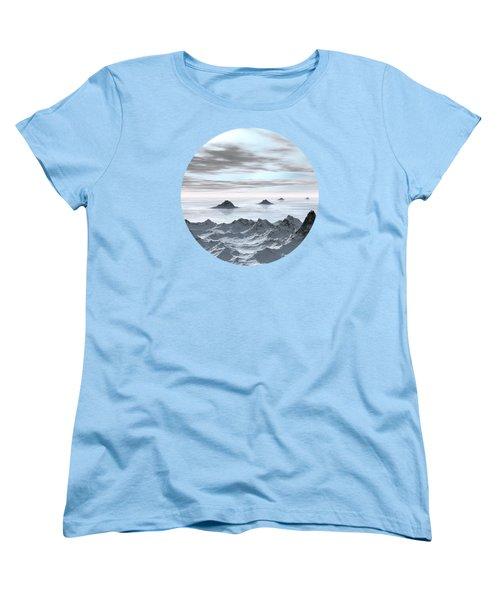 Frozen Arctic Sea Women's T-Shirt (Standard Cut) by Phil Perkins